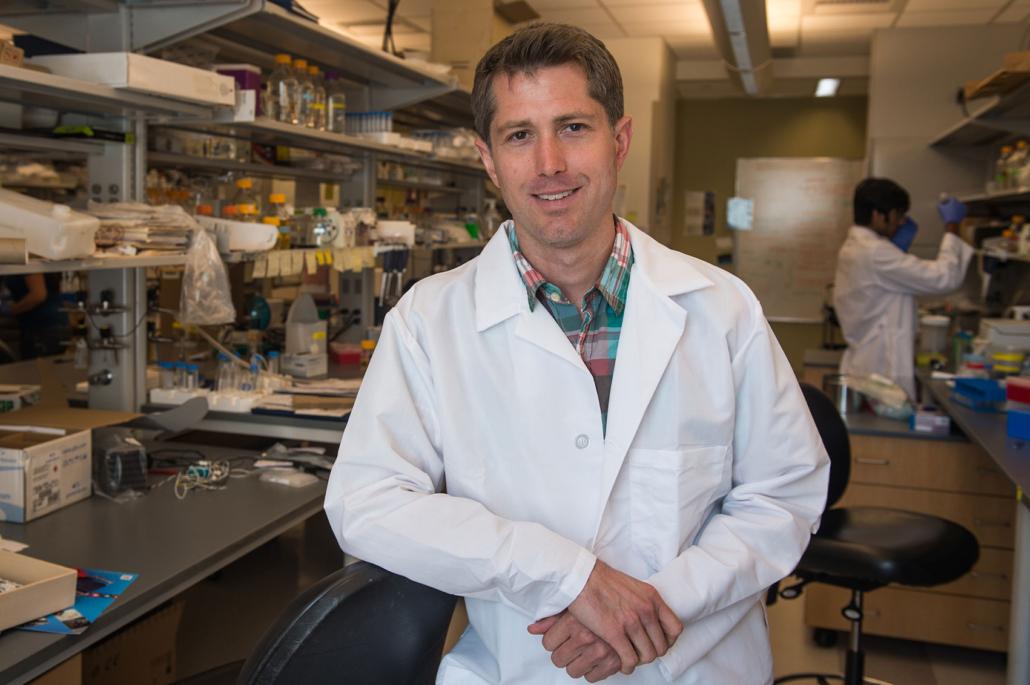 Jeff Tabor, associate professor of bioengineering in Rice's Brown School of Engineering