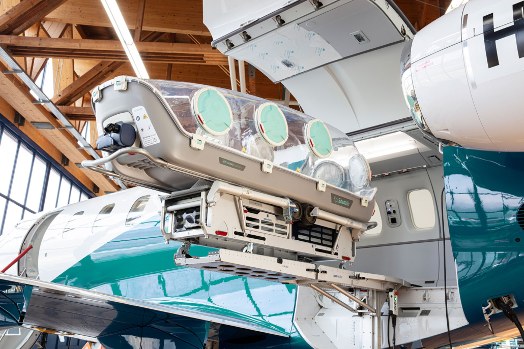 Pilatus PC-24 with EpiShuttle